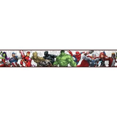 York Wallcoverings Disney Kids III Marvel Characters Border-DY0262BD - The Home Depot