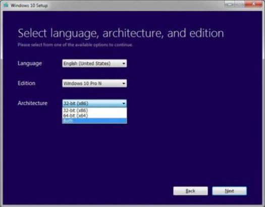 Download Windows 10 ISO 32 bit 2