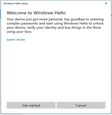 Windows 10 Hello Feature