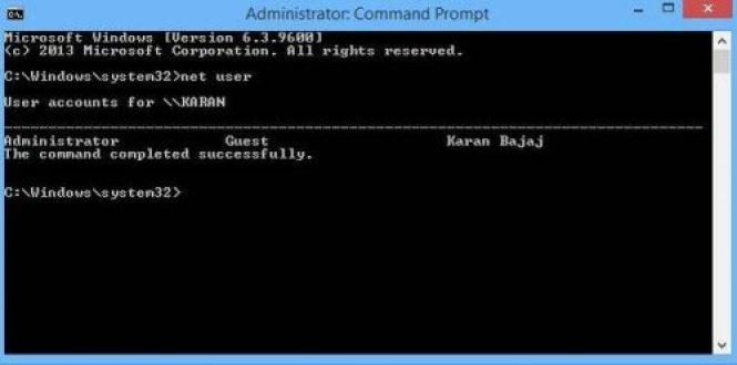 Windows 10 password reset