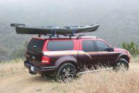 Thule Roof Rack For Truck Cap. GMC Yukon Denali XL Thule ...