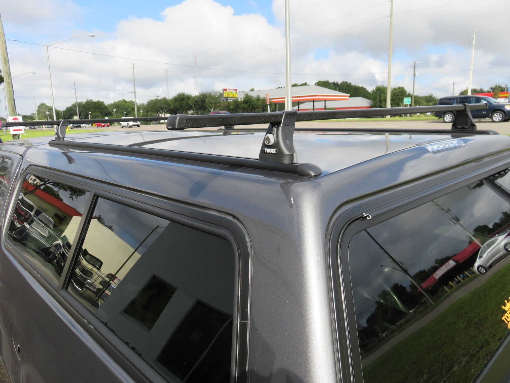 thule tracker ii roof rack topperking