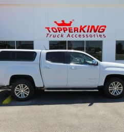 gmc canyon ranch echo fiberglass topper from topperking by topperking in brandon fl 813  [ 1710 x 1283 Pixel ]