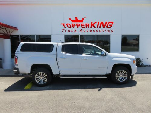 small resolution of gmc canyon ranch echo fiberglass topper from topperking by topperking in brandon fl 813