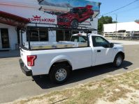 2017 White Ford F150 Ladder Rack - TopperKING : TopperKING ...