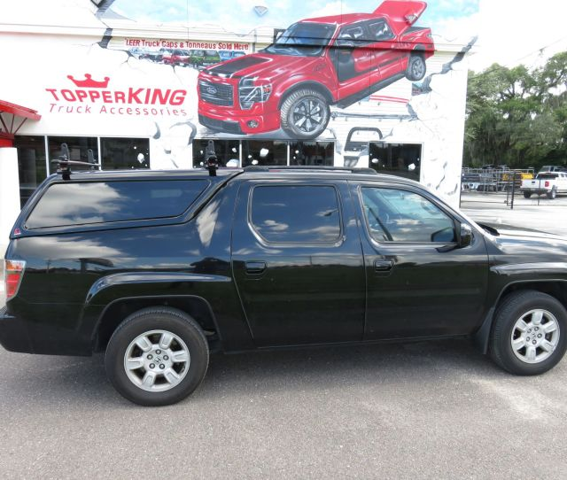 Honda Ridgeline With A Leer Xq A Custom Hitch Tint And Roof