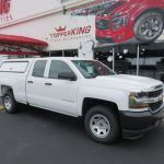 Chevy Silverado Leer 100rcc And Hitch Topperking Topperking Providing All Of Tampa Bay With Quality Truck Accessories