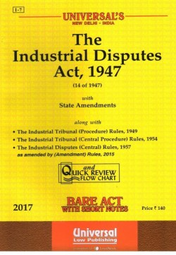 The Industrial Disputes Act,1947, Edition-2017