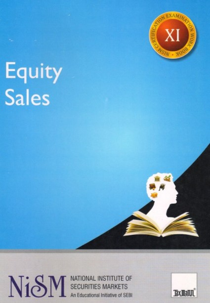 Taxmann' Equity Sales For NISM Exams, Edition March-2017