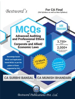 Bestword CA-Final MCQ on Advanced Auditing and Professional Ethics and Corporate and Allied Laws