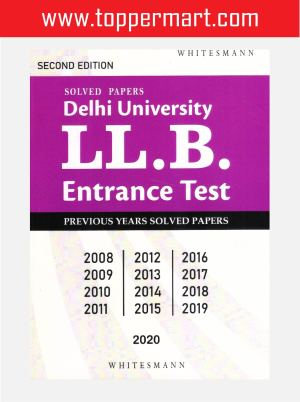 Solved Papers Delhi University LL.B. Entrance Text