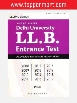 Solved Papers Delhi University LL.B. Entrance Text
