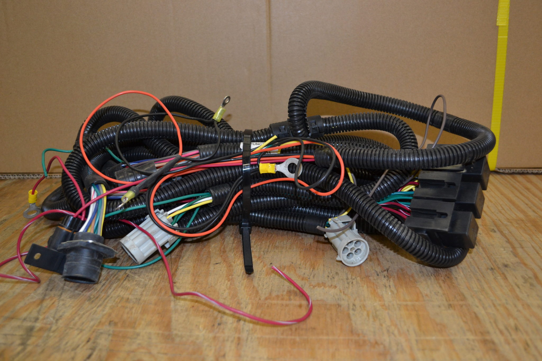 Hiniker Plow Wiring