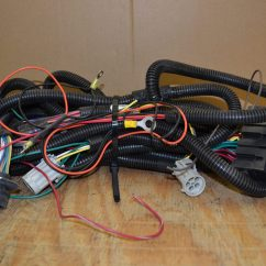 Hiniker V Plow Wiring Diagram Trailer 7 Pin 5 Wires Australia Snowplow Underhood Wire Harness Toppers And