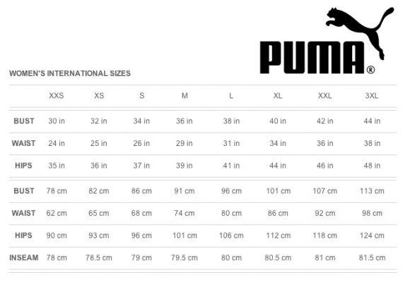 Puma football shirts size guide footballupdate co
