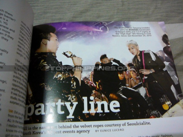 GD&TOP in Sparkling magazine