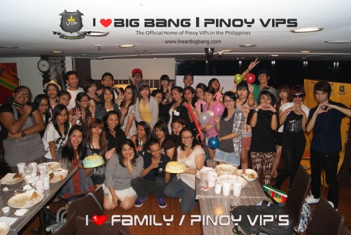I Heart Big Bang family