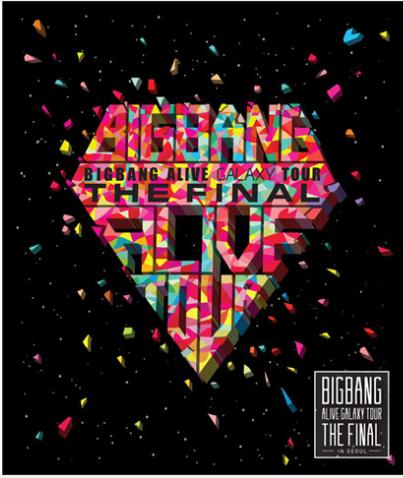 Big Bang Alive Final in Seoul CD