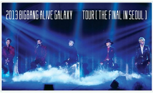 Limited Edition Big Bang Alive Galaxy Tour LIVE CD - The Final in Seoul