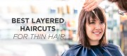 layered haircuts thin