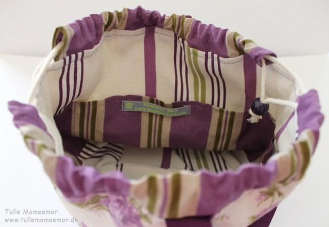 Min nye hækle krea taske