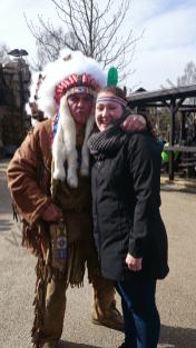 Janne & indianer