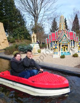 Janne & Lars i kold love boat
