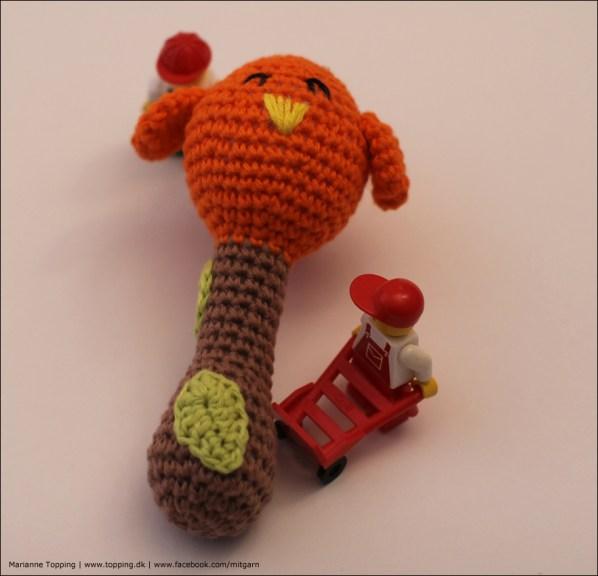 Rangle med fugl, prototype #1