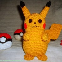 Pikachu - Pokémon hækleopskrift