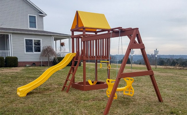 Wooden Playsets For Sale In Arkansas Playset Dealers In