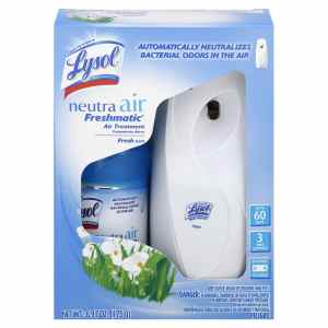 Lysol Neutra Air Freshmatic Automatic Spray Air Freshener Starter Kit, Fresh, 1 Count