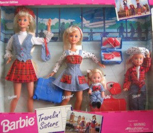 Barbie Travelin' Sisters Playset Special Edition
