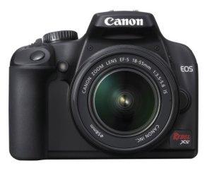 Canon Rebel XS DSLR Camera with EF-S 18-55mm f3.5-5.6 IS Lens (Black) (OLD MODEL)
