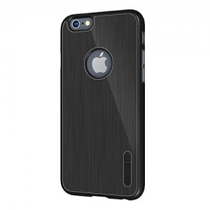 Genuine Cygnett UrbanShield Case for the 4.7 inch Apple iPhone 6 - Black Aluminium (CY1664CPURB)