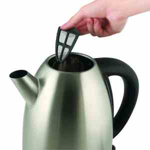Russell Hobbs RH13552 1-23-Liter Stainless-Steel Electric Kettle, Stainless Steel