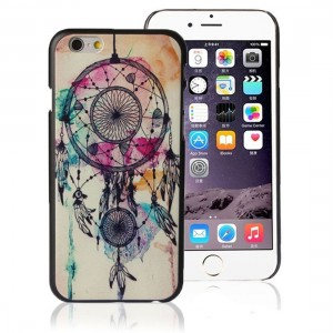 Suppion Brand New Retro Dream Catcher Hard Back Case Cover for Iphone 6 Plus 5.5'' Purple