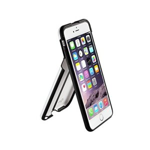iPhone 6 QDOS Portland [NEW] 2 In 1 Dual Layer Case With Integrated Stand [Folds to view phone In Portrait And Landscape Mode] (White)