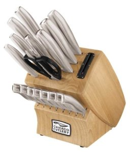 Chicago Cutlery 18-Piece Insignia Steel Knife Set