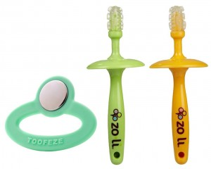 5. Zoli Gummy Sticks and Toofeze Baby Cooling Teether