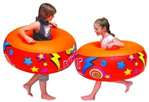 #8. Inflatable Bumper Boppers by Intex