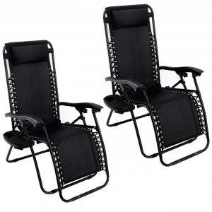 Arksen Gravity Patio Lounge Chair
