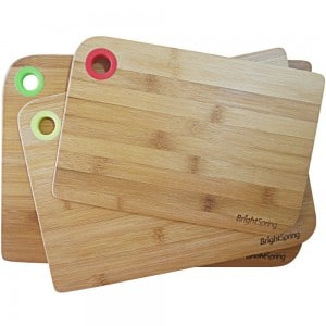 Bamboo Cutting Board Set – Eco-Friendly 3-Piec