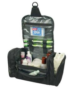 Deluxe Travel Kit Organizer w Hanging Hook