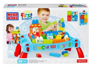 Mega Bloks Play and Go Table