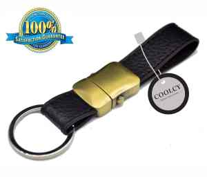 Premium Elegant with Genuine Leather that is Detachable Key Chain