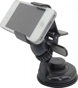 Premium Universal Adjustable Car Windshield Mount Holder