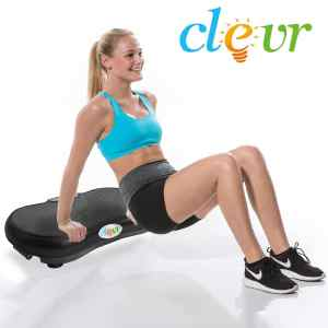 Black Mini Crazy Full Body Vibration Machine from Clevr