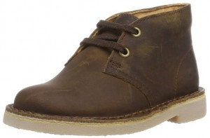 Clarks Kids First Beeswax Leather Boot
