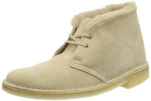 Clarks Sand Desert Hug Boot