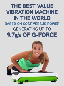 Hypervibe G-10 Whole Body Vibration Machine